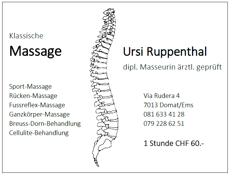 Ursi Ruppenthal Massage