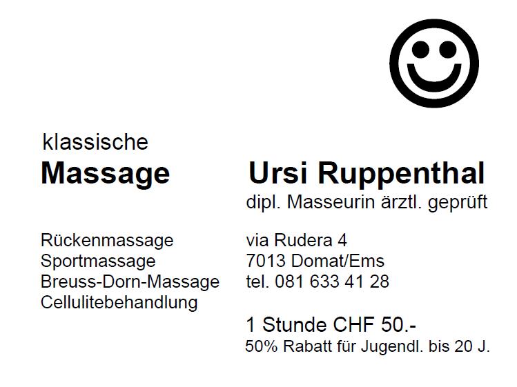 Ursi Ruppenthal Massage